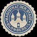 Siegelmarke Magistrat der Stadt Blomberg-Lippe W0385104.jpg
