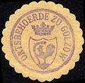 Siegelmarke Ortsbehoerde zu Golzow W0229202.jpg