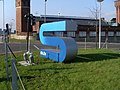 Sign at STV studios - geograph.org.uk - 693478.jpg