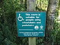 Sign explaining status of the path to Cawthorne Camps - geograph.org.uk - 202485.jpg