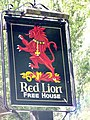 Sign for the Red Lion - geograph.org.uk - 1427228.jpg
