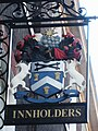 Sign for the Worshipful Company of Innholders - geograph.org.uk - 1118119.jpg