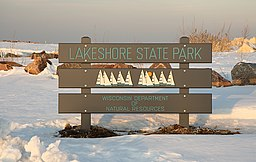 Sign in lakeshore state park - milwaukee.jpg