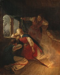 Signe Seeks Death in the Flames of Her Bower