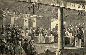 British Supreme Court for China - Signing of the Treaty of Tientsin