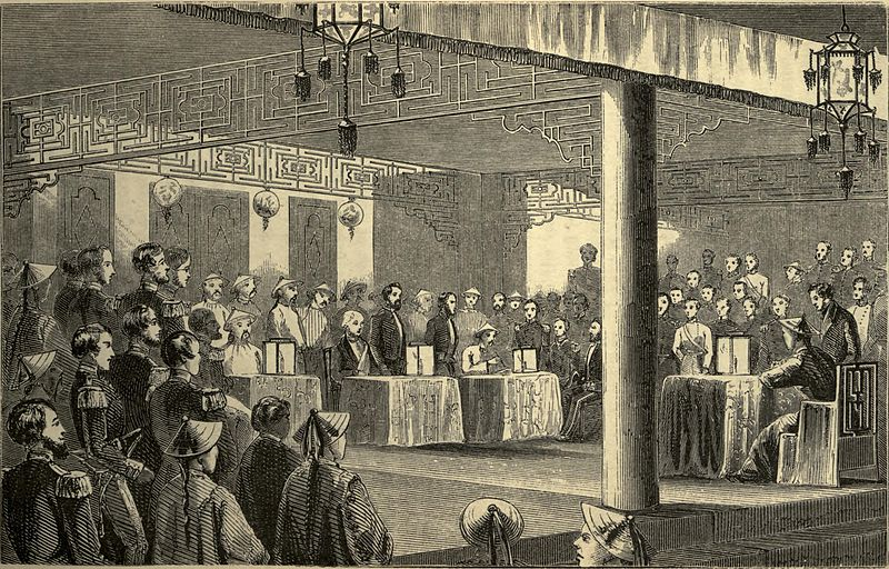 File:Signing the Treaty of Tientsin.jpg