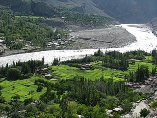 village in Gilgit-Baltistan, Pakistan