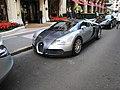 Silver Bugatti Veyron front left corner.jpg