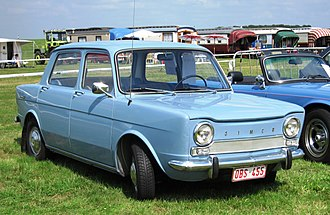PSA Poissy Plant - Simca 1000 (1961). The Simca 1000 was the first Poissy product to exceed the million units threshold.
