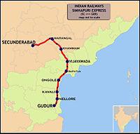 Simhapuri Express (Secunderabad - Gudur) Route map.jpg