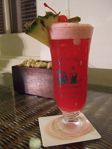 File:Singapore Sling Cocktail.jpg