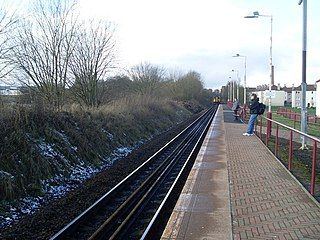 Hawkhead railway station Scottish railway station