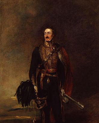 Henry Wyndham (British Army officer) - Wyndham in the National Portrait Gallery