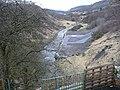 Sirhowy River looking downriver, Peacehaven - geograph.org.uk - 1183159.jpg
