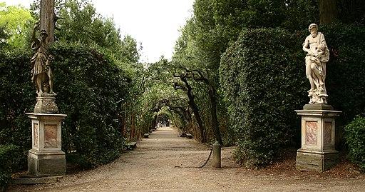 Skulpturen Boboligarten Florenz