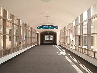 Minneapolis Skyway System - Skyway interior, Minneapolis.  Nicollet Mall between 9th and 10th streets