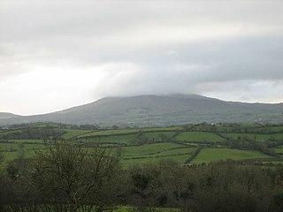 Slieve Croob mountain in the United Kingdom