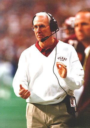 Texas A&M Aggies football - Coach Slocum