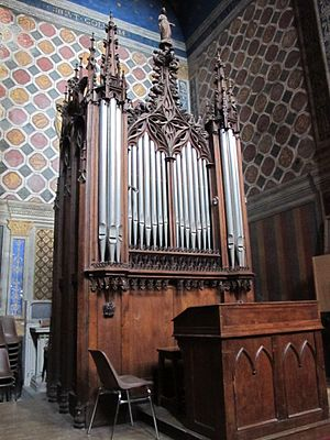 Small organ at Cathédrale Sainte-Cécile d'Albi.JPG