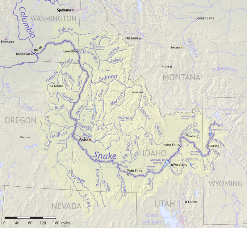 Snake River watershed map.png
