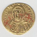 Solidus of Justinian II (685-95) MET temp101301495obv.jpg