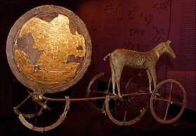 Trundholm sun chariot - Wikipedia, the free encyclopedia