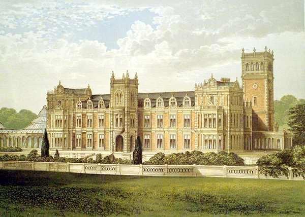 Somerleyton from Morriss Seats of Noblemen and Gentlemen (1880)