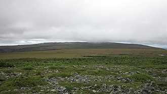 Mount Albert (Quebec) - Southern summit of Mount Albert and Moses's table.
