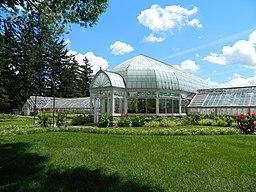 Sonnenberg Gardens Greenhouse Conservatory Complex - Palm House