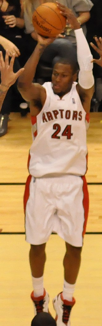 Sonny Weems - Weems during his tenure with the Toronto Raptors
