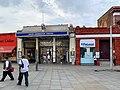 South Kensington station arcades entrance 2020.jpg
