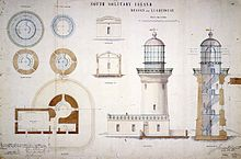 Plans For The Lighthouse, 1878