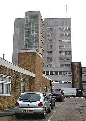 Southend Hospital - The Towerblock - geograph.org.uk - 238351.jpg