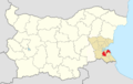 Sozopol Municipality Within Bulgaria.png