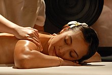 Yoni massage technik