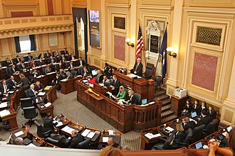 Virginia House of Delegates - Image: Speaker Bill Howell opens session at Virginia House of Delegates