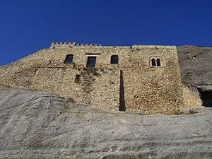 Cave castle - Image: Sperlinga castle