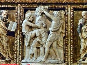 Giorgio da Sebenico - Altar detail in the Cathedral of Saint Domnius