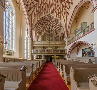 St. John's Church, Riga - Image: St. John's Church Interior 2, Riga, Latvia Diliff
