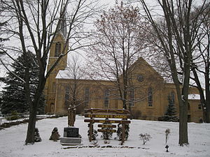 Roxbury, Wisconsin - St. Norbert's Church