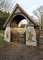 St Lawrence, Castle Rising, Norfolk - Lychgate - geograph.org.uk - 1163584.jpg