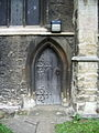 St Mary's Church, Bedford, Doorway - geograph.org.uk - 646291.jpg