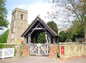 Norton, Hertfordshire - Image: St Nicholas Norton gate