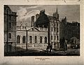 St Paul's School, London, England. Etching by Owen after J.P Wellcome V0014814.jpg