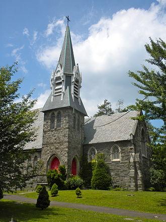 G. W. & W. D. Hewitt - St. Peter's Episcopal Church of Germantown, 1873