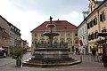 St Veit a d Glan - Walther von der Vogelweide Brunnen.JPG