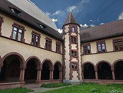 State Archives Basel-Stadt.  Building and cloister.jpg