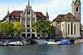 Stadthaus - Fraumünster - Limmat - Limmatquai 2012-10-06 12-34-46.jpg