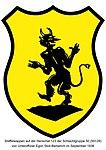 Staffelwappen Schlachtgruppe 50 auf der Henschel 123 von Unteroffizier Egon Stoll-Berberich.jpg