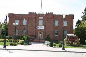 Niobrara County, Wyoming - Image: Stagecoach Museum Lusk WY